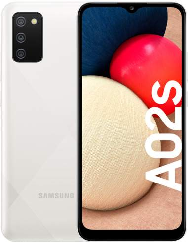 Samsung Galaxy A02s 32GB Blanco Libre